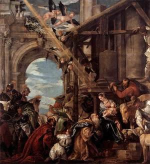 Paolo Veronese (Caliari) - Adoration of the Kings, 1573