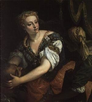 Paolo Veronese (Caliari) - Judith with the head of Holofernes, 1582
