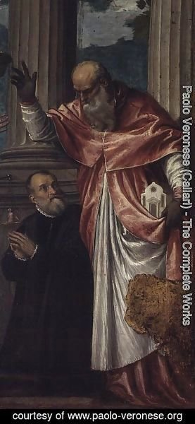 St. Jerome and a Donor