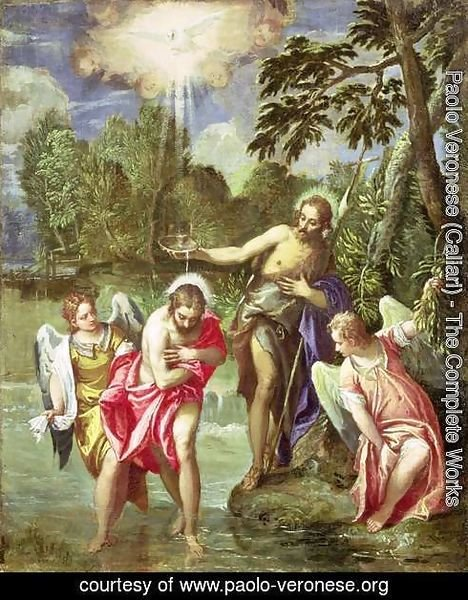 The Baptism of Christ, c.1580-88