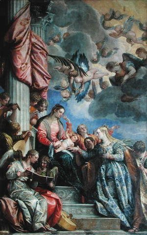 Paolo Veronese (Caliari) - The Mystic Marriage of St. Catherine 2