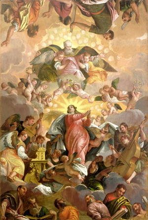 Paolo Veronese (Caliari) - The Assumption of the Virgin