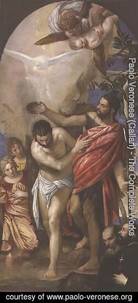 Paolo Veronese (Caliari) - The Baptism of Christ 2