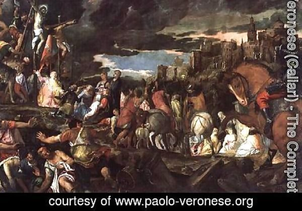 Paolo Veronese (Caliari) - The Crucifixion