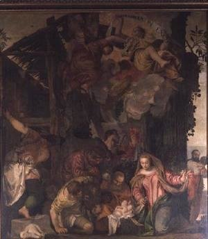 Paolo Veronese (Caliari) - Adoration of the Shepherds 2