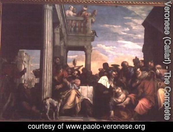 Paolo Veronese (Caliari) - Christ at Dinner in the House of Simon the Pharisee