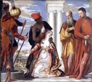 Paolo Veronese (Caliari) - The Martyrdom of St. Justine, c.1555