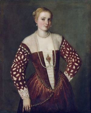 Paolo Veronese (Caliari) - Portrait of a Woman