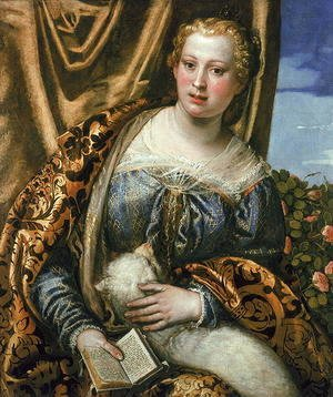 Paolo Veronese (Caliari) - Lady or St. Agnes
