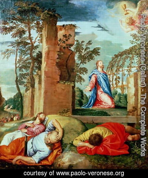 Paolo Veronese (Caliari) - The Agony in the Garden 2