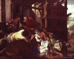 Paolo Veronese (Caliari) - Adoration of the Shepherds 3
