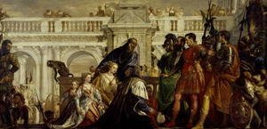 Paolo Veronese (Caliari) - Family of Darius before Alexander the Great 3