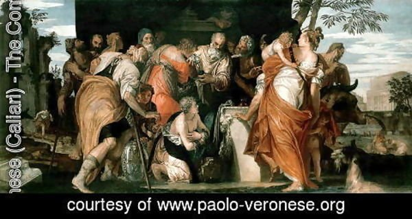 Paolo Veronese (Caliari) - The Anointing of David, c.1555