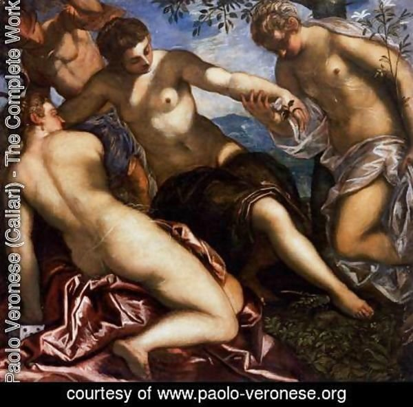 Paolo Veronese (Caliari) - Mercury and the Graces