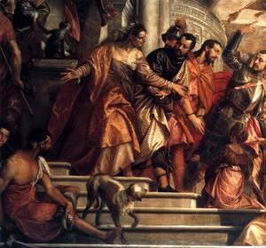 Paolo Veronese (Caliari) - Sts Mark and Marcellinus Being Led to Martyrdom (detail)