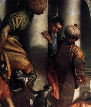 Paolo Veronese (Caliari) - Sts Mark and Marcellinus Being Led to Martyrdom (detail) 2