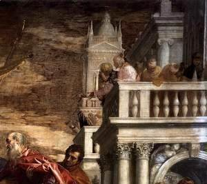 Paolo Veronese (Caliari) - Sts Mark and Marcellinus Being Led to Martyrdom (detail) 3
