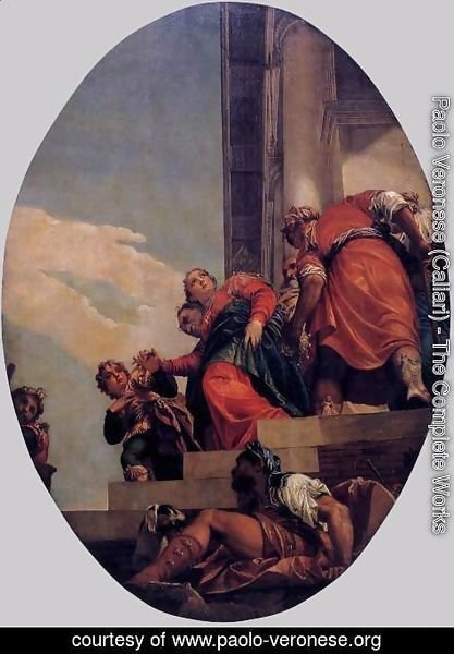 Paolo Veronese (Caliari) - The Banishment of Vashti