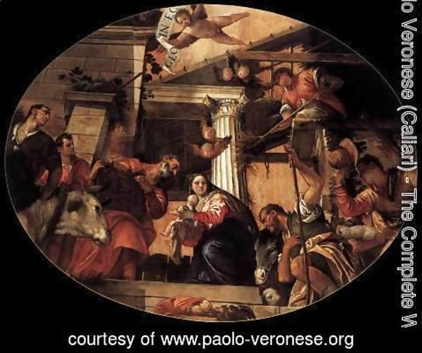 Paolo Veronese (Caliari) - Adoration of the Shepherds 4