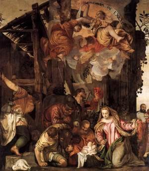 Paolo Veronese (Caliari) - Adoration of the Shepherds 5