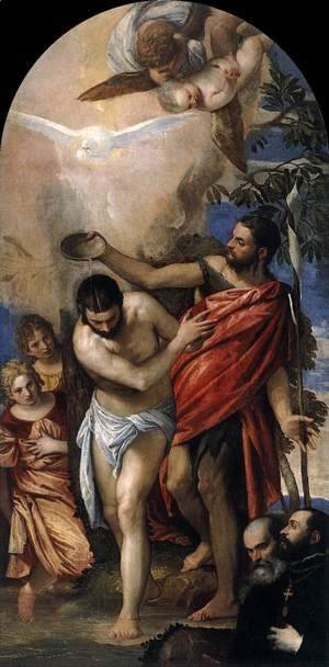 Paolo Veronese (Caliari) - Baptism of Christ 2