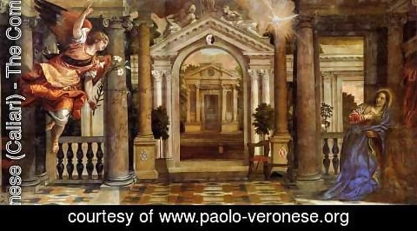 Paolo Veronese (Caliari) - The Annunciation 2