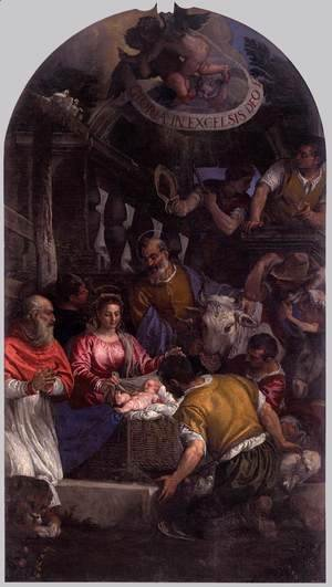 Paolo Veronese (Caliari) - Adoration of the Shepherds 6