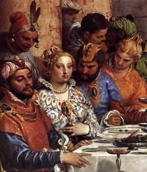 Paolo Veronese (Caliari) - The Marriage at Cana (detail)