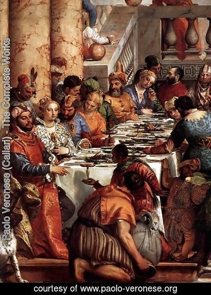 Paolo Veronese (Caliari) - The Marriage at Cana (detail) 3