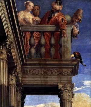 Paolo Veronese (Caliari) - Feast in the House of Simon (detail) 3