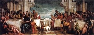 Paolo Veronese (Caliari) - Feast at the House of Simon