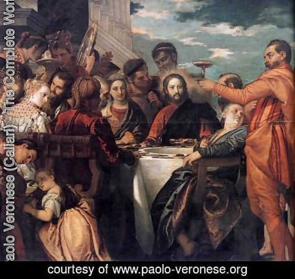 Paolo Veronese (Caliari) - Marriage at Cana (detail)