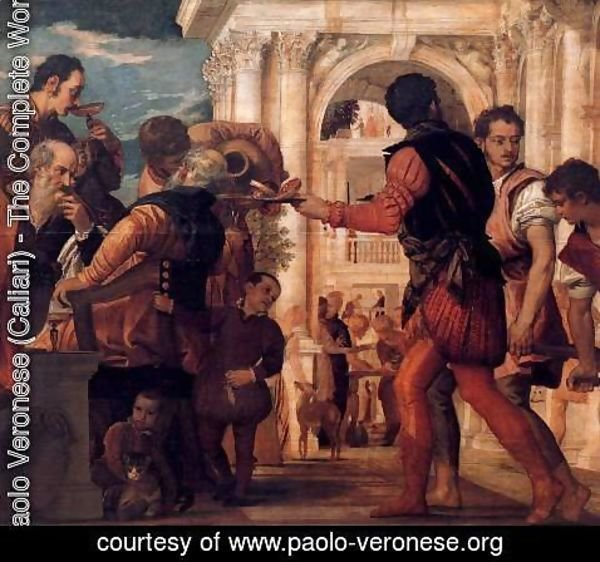 Paolo Veronese (Caliari) - Marriage at Cana (detail) 2