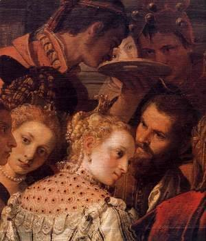 Paolo Veronese (Caliari) - Marriage at Cana (detail) 3