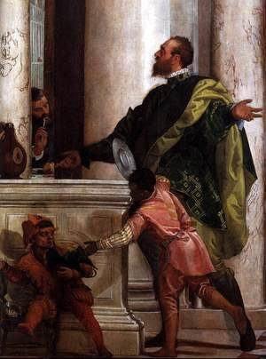 Paolo Veronese (Caliari) - Feast in the House of Levi (detail) 2