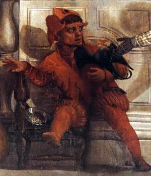 Paolo Veronese (Caliari) - Feast in the House of Levi (detail) 4