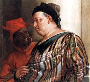 Paolo Veronese (Caliari) - Feast in the House of Levi (detail) 8