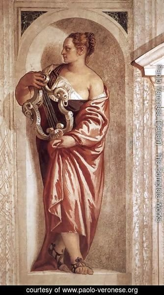 Paolo Veronese (Caliari) - Muse with Lyre