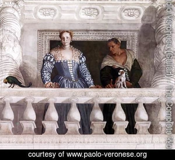 Paolo Veronese (Caliari) - Figures behind the Parapet