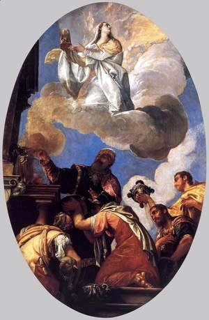 Paolo Veronese (Caliari) - Religio and Fides (Religion and Faith)