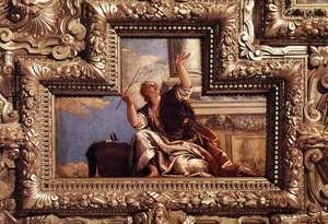 Paolo Veronese (Caliari) - Ceiling decoration (detail)