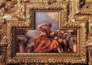 Paolo Veronese (Caliari) - Ceiling decoration (detail) 2