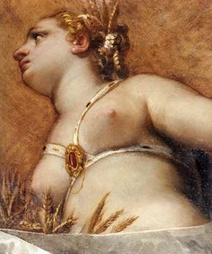 Paolo Veronese (Caliari) - Venice, Hercules, and Ceres (detail)