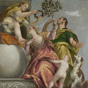 Paolo Veronese (Caliari) - Allegory of Love, IV Happy Union