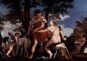 Paolo Veronese (Caliari) - Venus and Adonis