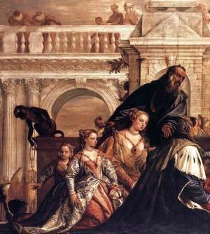 Paolo Veronese (Caliari) - The Family of Darius before Alexander (detail)