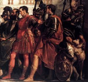 Paolo Veronese (Caliari) - The Family of Darius before Alexander (detail) 2