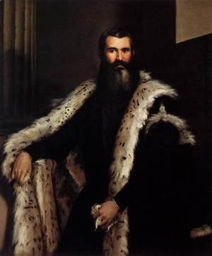 Paolo Veronese (Caliari) - Gentleman in a Lynx Fur