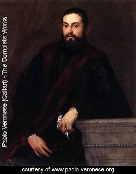 Paolo Veronese (Caliari) - Gentleman in Black