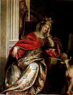 Paolo Veronese (Caliari) - The Wife Of Zebedee Interceding With Christ Over Her Sons Detail